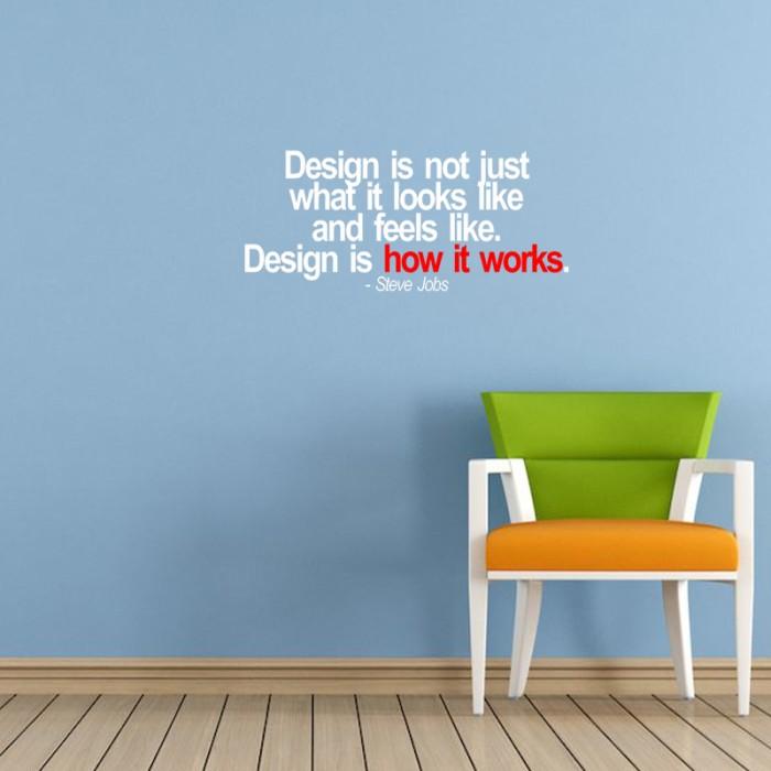 Sticker design is not only stiker dinding kaca cafe rumah wall