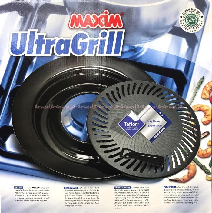 Jual Maxim BBQ Ultra Grill Pemanggang Teflon Tempat Bakar