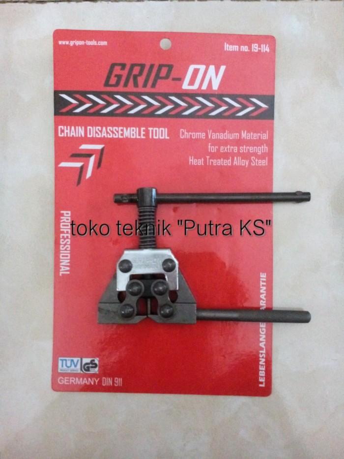 harga Pemotong rantai / chain disassemble tool grip-on 19-114 Tokopedia.com
