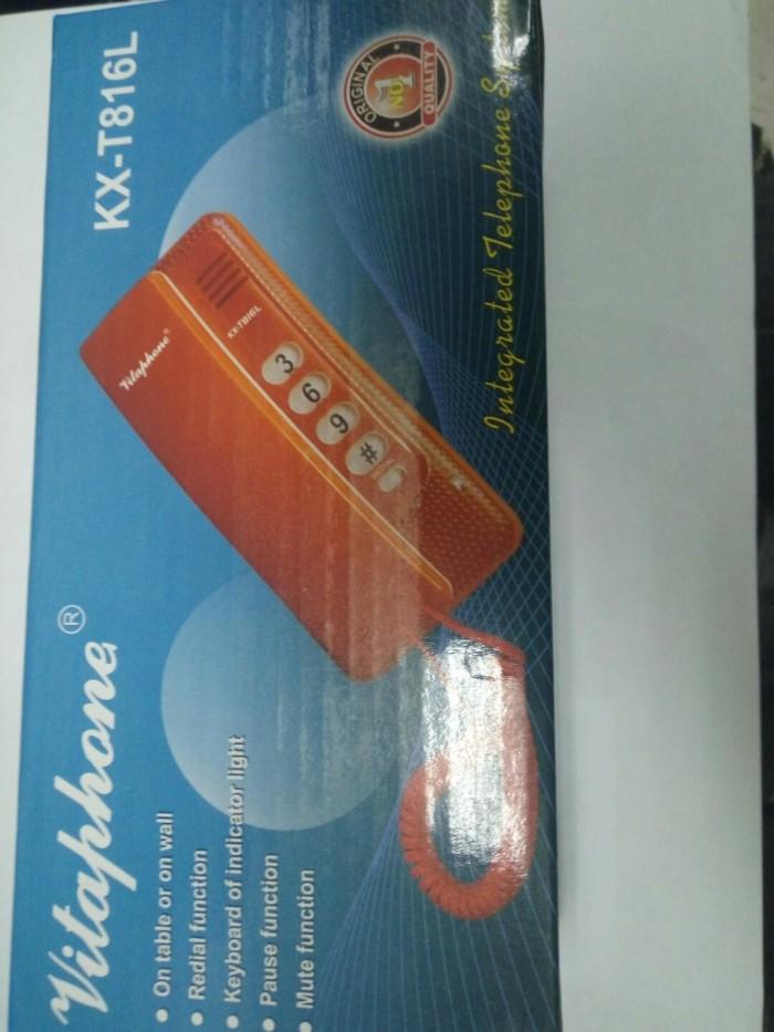 harga Pesawat telepon / telepon rumah vitaphone kx-t816l Tokopedia.com