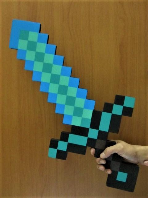 Foto Produk Pedang Minecraft / Minecraft Sword (Diamond Sword) dari Wil Toys