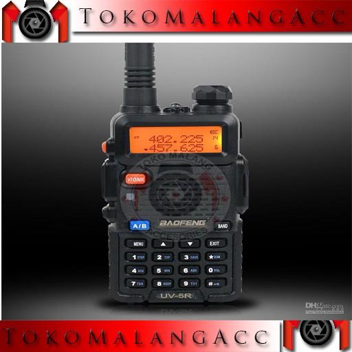 harga Promo bonus headset handy talkie ht baofeng  uv5r uv-5r uv 5r black Tokopedia.com