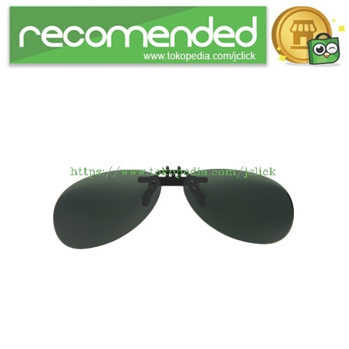 harga Clip lensa kacamata polarized sunglasses night vision googles - black/ Tokopedia.com