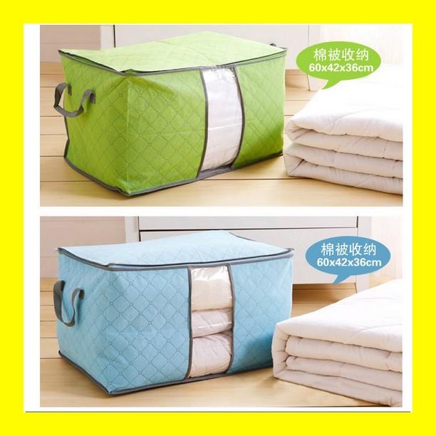 harga Storage bag storage box organizer datar tempat pakaian baju selimut Tokopedia.com