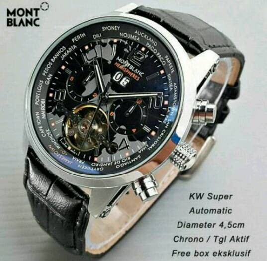 Jam tangan pria montblanc sporty
