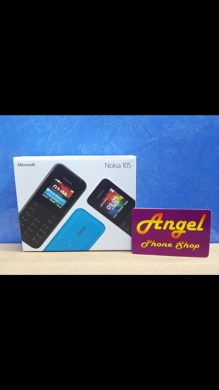 Jual Nokia 105 Angel Phone Shop Tokopedia Microsoft Cyan