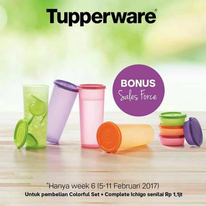 Tupperware Giant Tumbler (4 pcs)