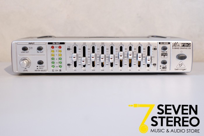 harga Behringer fbq800 ( graphic equalizer , feedback destroyer , 9-band ) Tokopedia.com