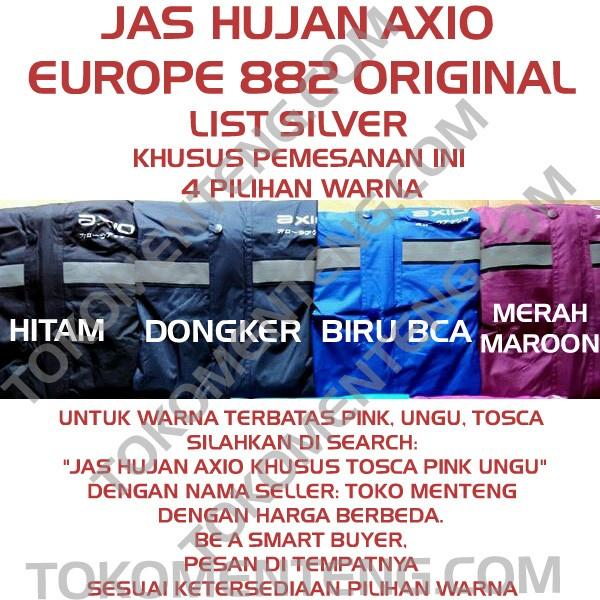 ... harga Jas hujan axio europe original scotlight silver murah grosir Tokopedia.com