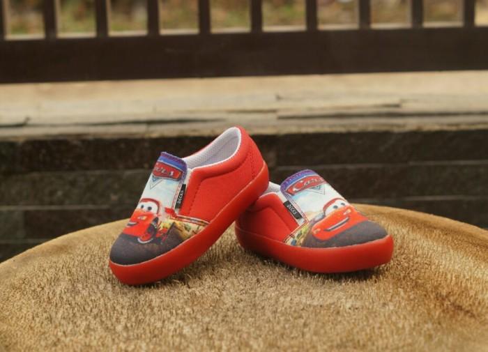 harga Original sepatu anak decks kids cars merah sepatu cowok kartun karakte Tokopedia.com
