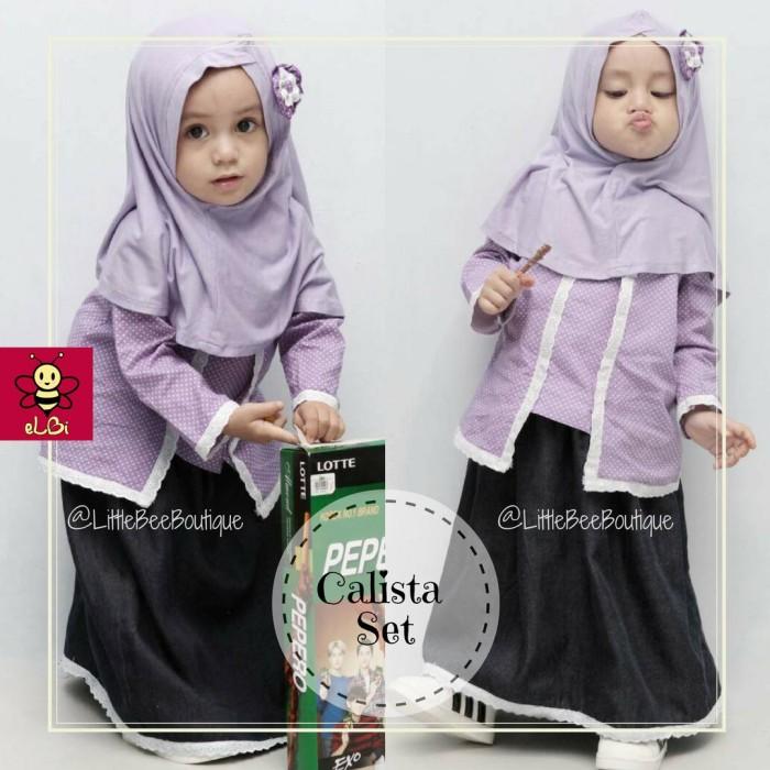 Jual Kebaya Muslim Anak Baju Anak Perempuan Baju Muslim Anak Gamis An S Kota Surabaya Distro Linggar Tokopedia