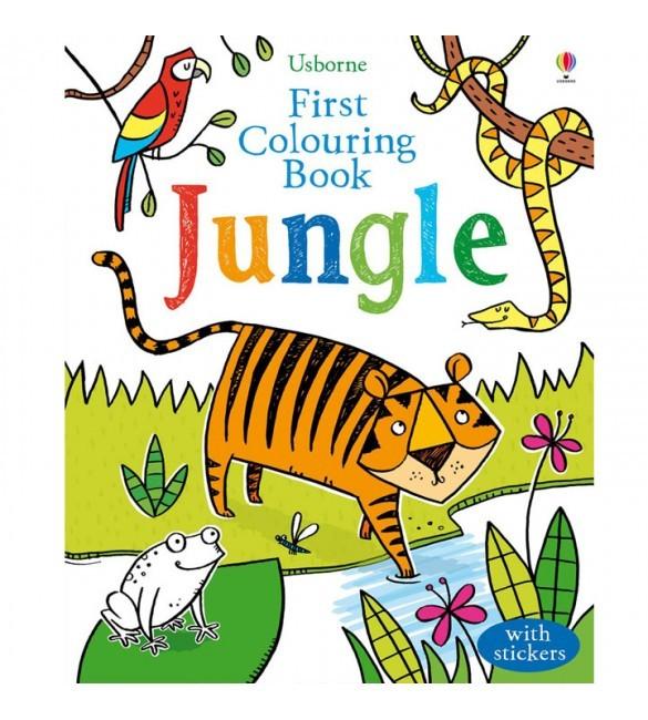 Jual Import Book Baby Book Coloring Book Usborne Jungle With Stickers Kota Bandung Famous Famous Tokopedia