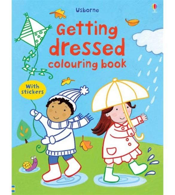Jual Import Book Baby Book Coloring Book Usborne Dress Up With Stickers Kota Bandung Famous Famous Tokopedia