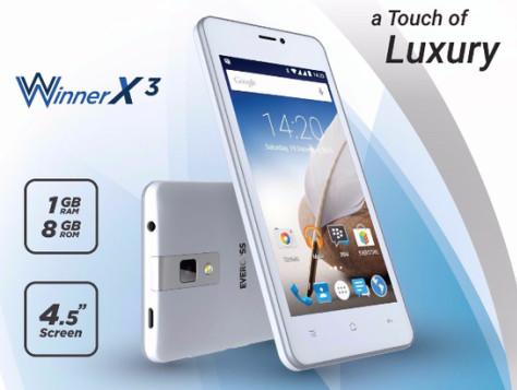 Handphone Smartphone Evercoss A65b / Hp 4,5