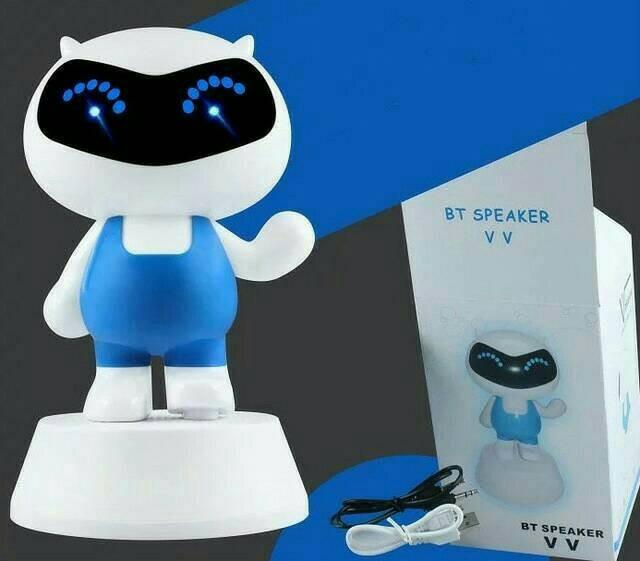 Foto Produk SPEAKER BLUETOOTH ROBOTIC V V / SPEAKER BLUETOOTH KARAKTER UNIK dari Berkah Bundo