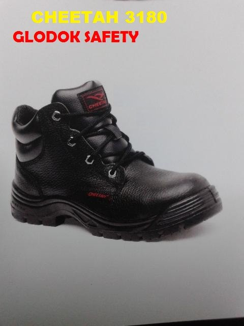 Jual Sepatu   Safety Shoes Cheetah 3180 H - GLODOK SAFETY  23563f9e5b