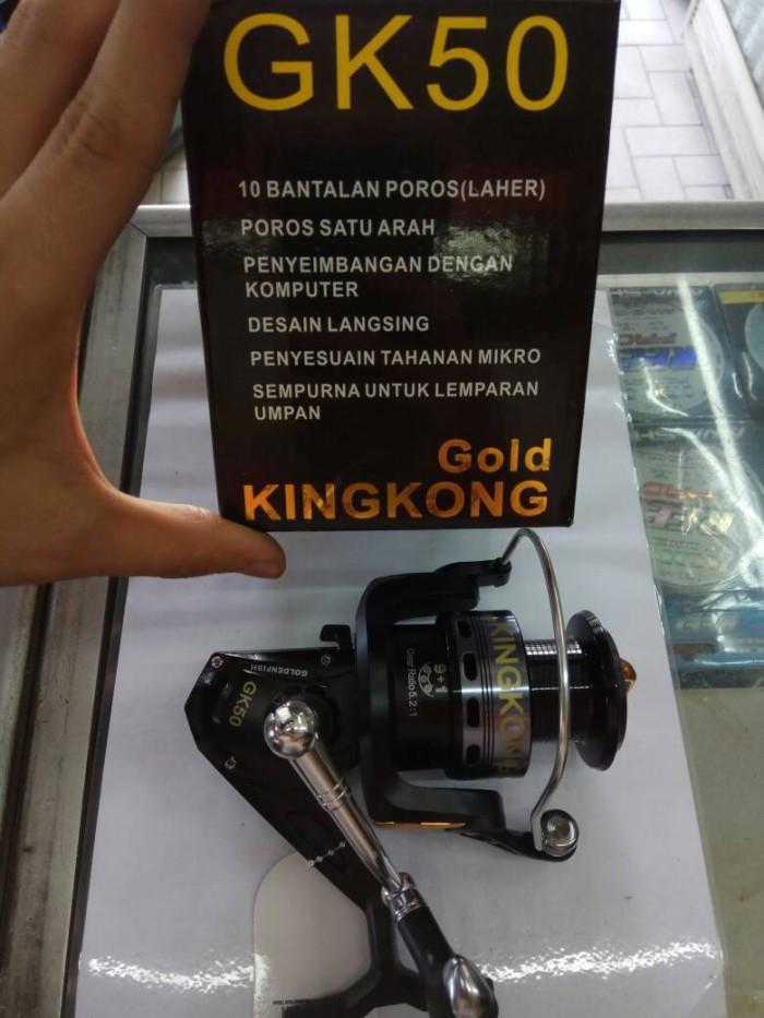harga Rell/reel pancing golden fish kingkong gk50 Tokopedia.com