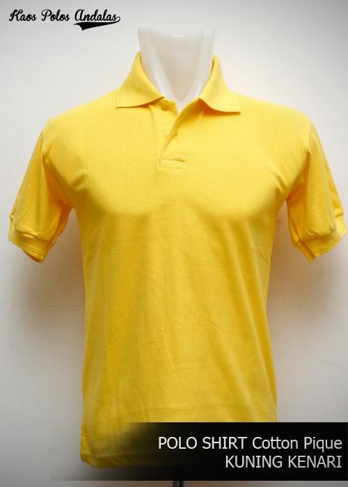 harga Kaos polos polo shirt bahan cotton pique kuning kenari xxl Tokopedia.com