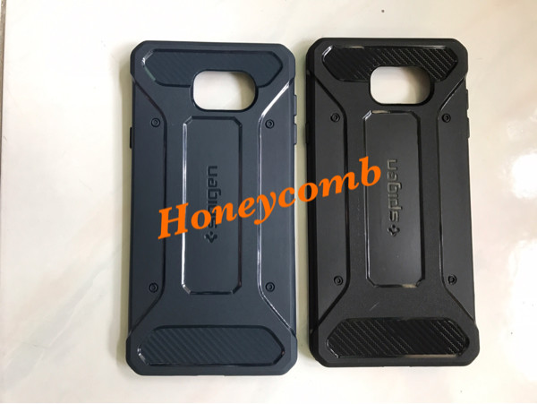 Foto Produk Rubber Case Spigen Carbon Black Edition Samsung Galaxy A5 2016 / A510 dari Honeycomb