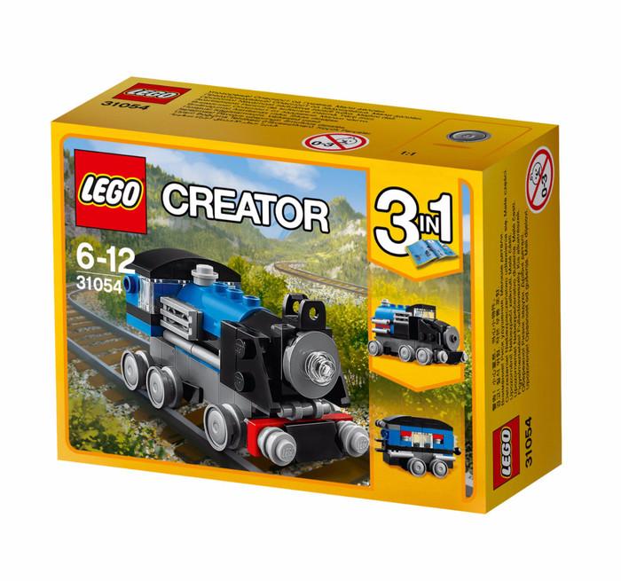 harga Lego creator 3 in 1-31054 blue express set train city engine lokomotif Tokopedia.com