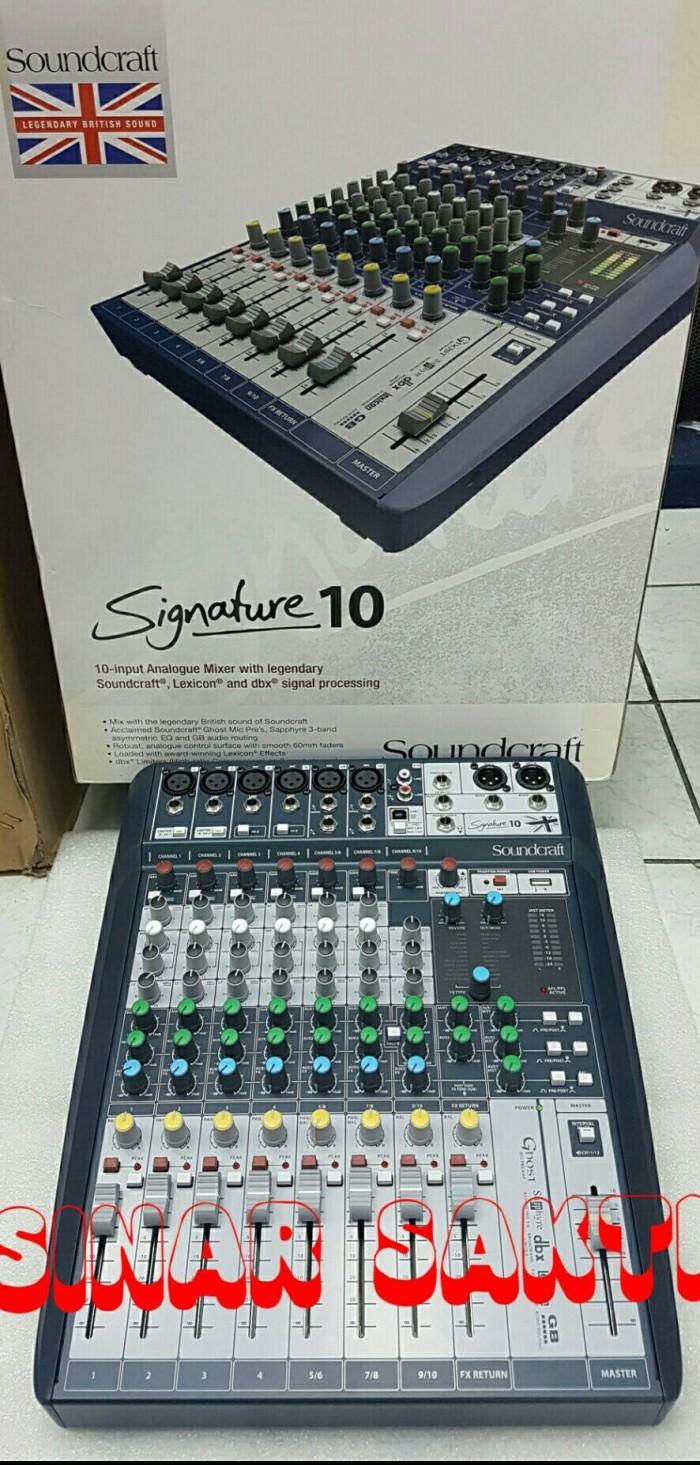 harga Murah mixer soundcraft signature 10 ( original ) Tokopedia.com