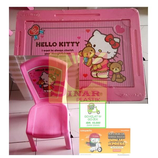 Jual Meja Belajar Anak 1 Set Meja Kursi Hot Wheels Frozen Hello Kitty Dki Jakarta Sinar Plastik Tokopedia