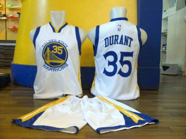 check out 7b87c cfb07 Jual JERSEY / BAJU BASKET STELAN NIKE NBA GOLDEN STATE WARRIORS DURANT -  Lapak Basket Store | Tokopedia