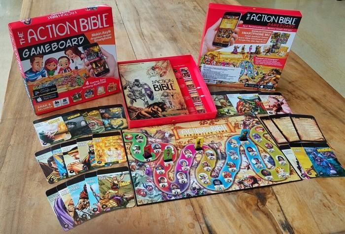 harga Permainan aksi rohani seru the action bible game board Tokopedia.com