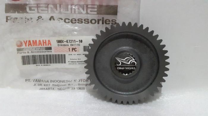 harga Gear rasio belakang nouvo 43t 5mx-e7211-10 yamaha genuine parts Tokopedia.com
