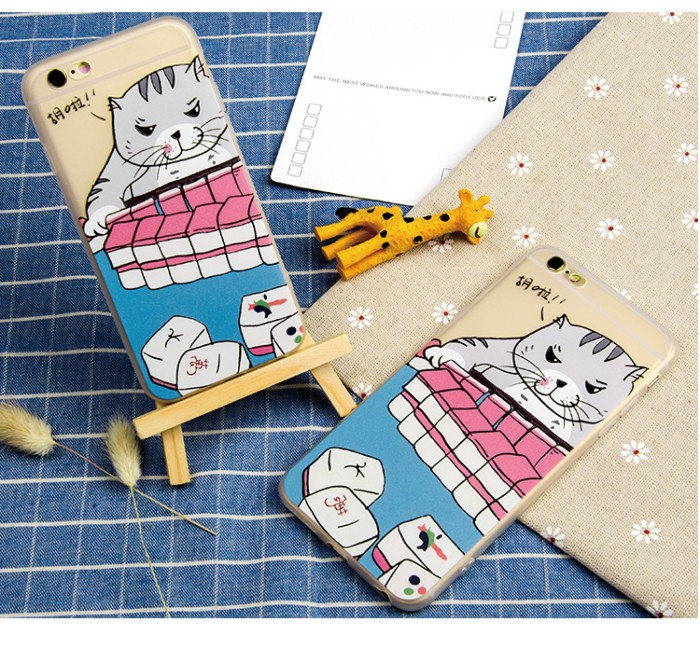 harga Creative casing iphone 6/6s tpu softcase - mahjong cat Tokopedia.com