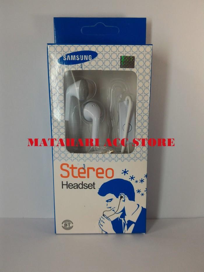 harga Handsfree headset earphone samsung s5830 / galaxy ace original100% Tokopedia.com