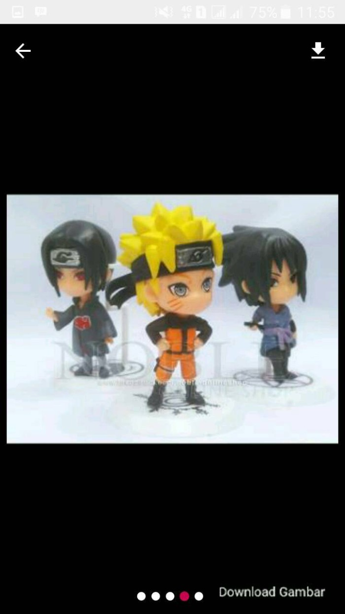 Jual Action Figure Chibi Naruto Kota Bekasi Defa Store Satuan