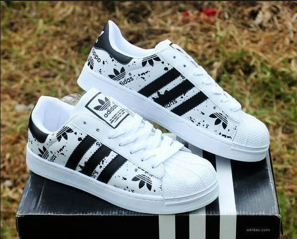 harga Sepatu olahraga adidas putih hitam wanita cewek cewe casual boot boots Tokopedia.com