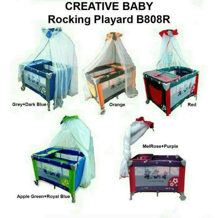 harga Box bayi pliko creative 808 tempat tidur bayi ranjang ayun murah Tokopedia.com