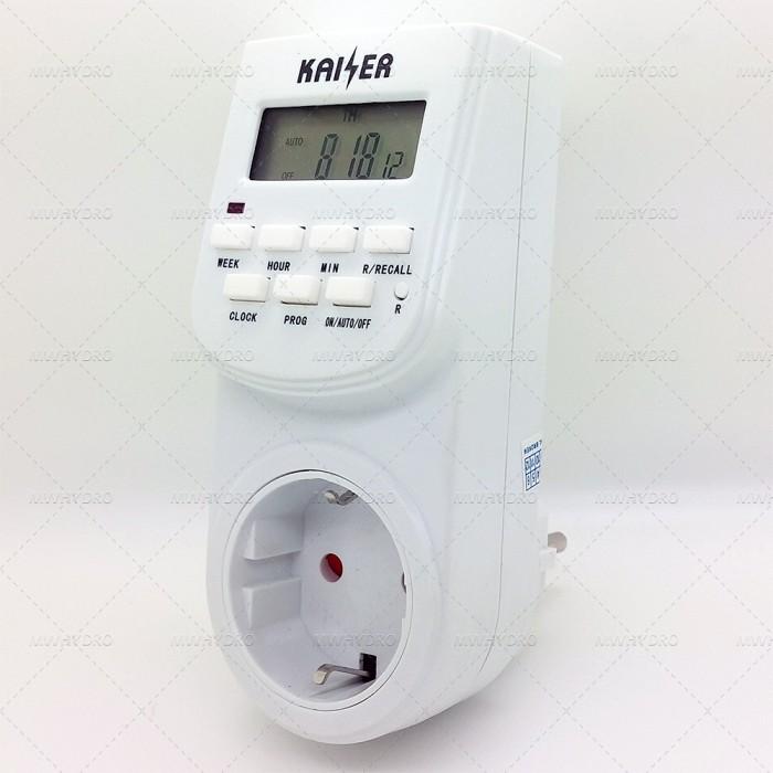 harga Timer stop kontak digital lcd on off aliran listrik otomatis Tokopedia.com