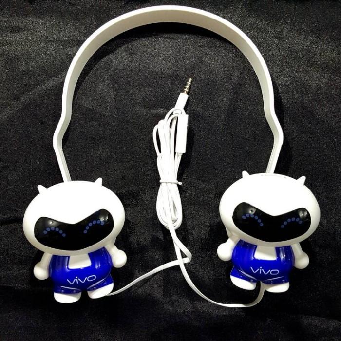 harga Headset vivo stereo headphone handsfree boneka oppo big bass Tokopedia.com