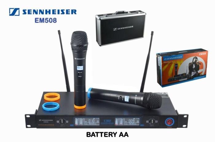 harga Mic wireless sennheiser em 508 ( 2 peggang) free hardcase Tokopedia.com