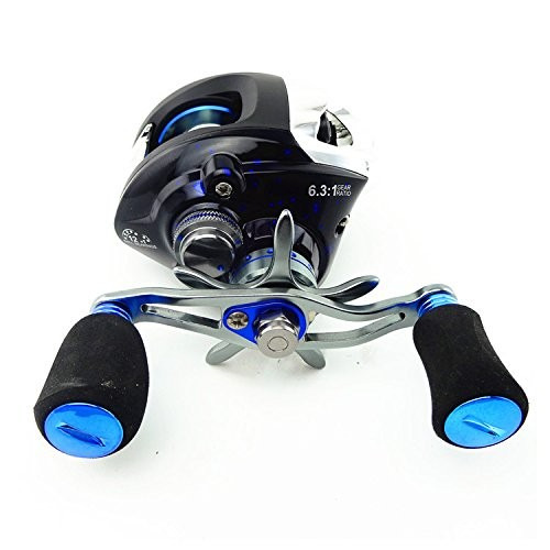 harga Gulungan pancing metal fishing spinning reel 12+1 ball bearing - blue Tokopedia.com