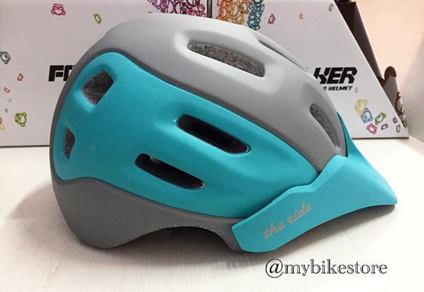 harga Helm sepeda folker grey blue Tokopedia.com