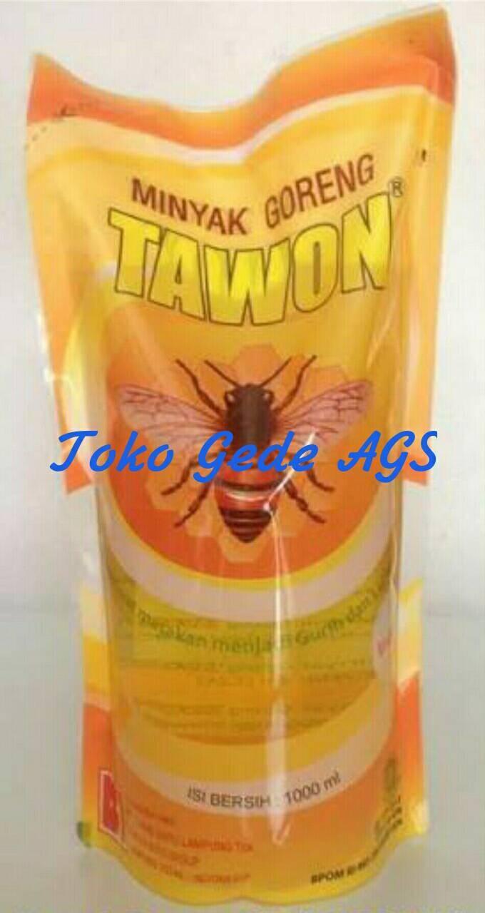 Jual Minyak Goreng Refill Tawon 1 Liter Toko Gede Ags Tokopedia 1liter