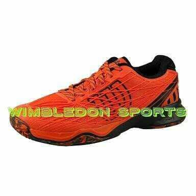 harga Sepatu tenis wilson kaos flame orange black/ sepatu wilson kaos Tokopedia.com