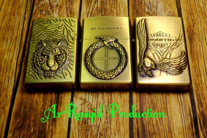 harga Korek api minyak model zippo kantai earth motif hewan 3358 Tokopedia.com