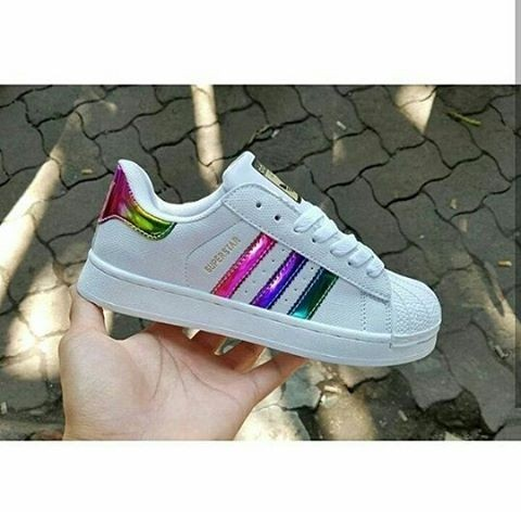 adidas superstar rainbow shoes