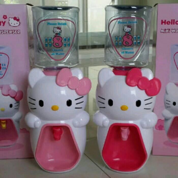 harga Dispenser air minum mini hello kitty Tokopedia.com