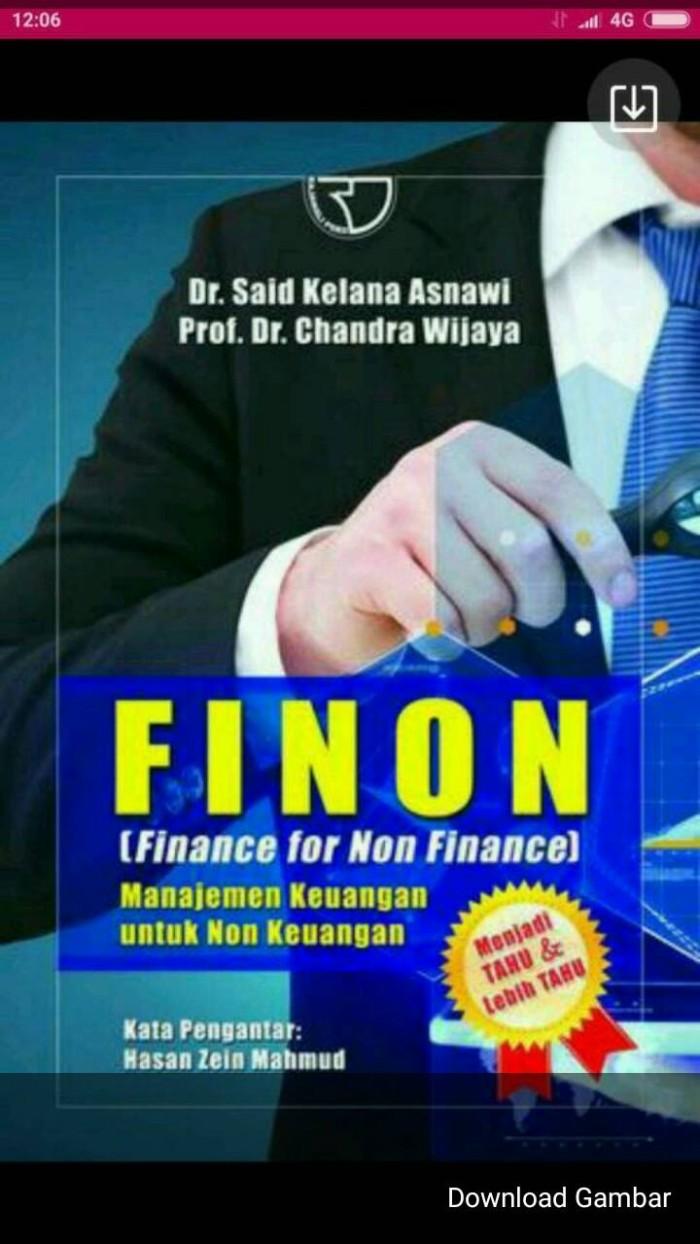 Jual FINON Finance For Non Finance Said Kelana Kota Yogyakarta STARSBOOKS