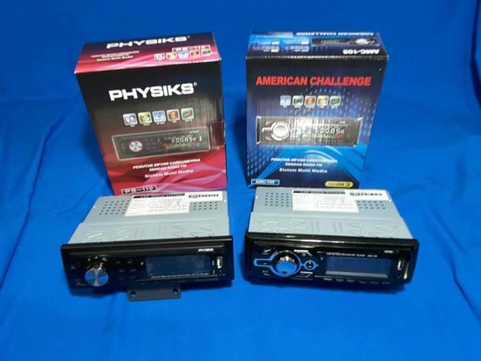 Head unit / single din american challenge amc - 105 tape mobil