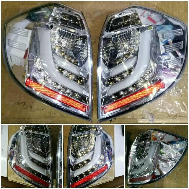 harga Sk1700crm stoplamp honda jazz ge8 08-14 led dan led bar chrome housing Tokopedia.com