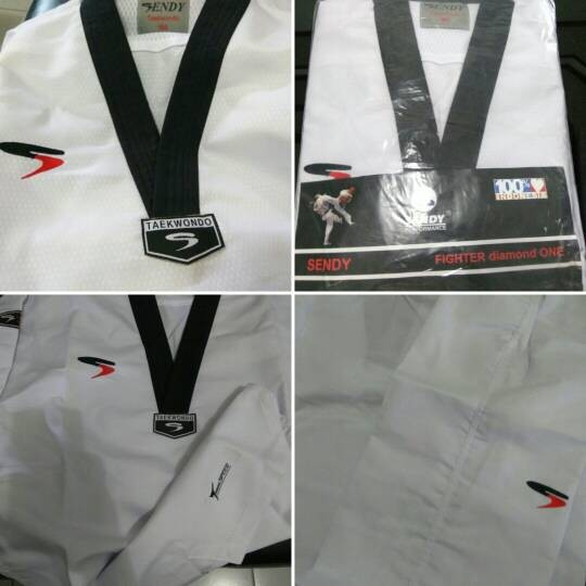 harga Dobok senior taekwondo sendy fighter diamond one Tokopedia.com