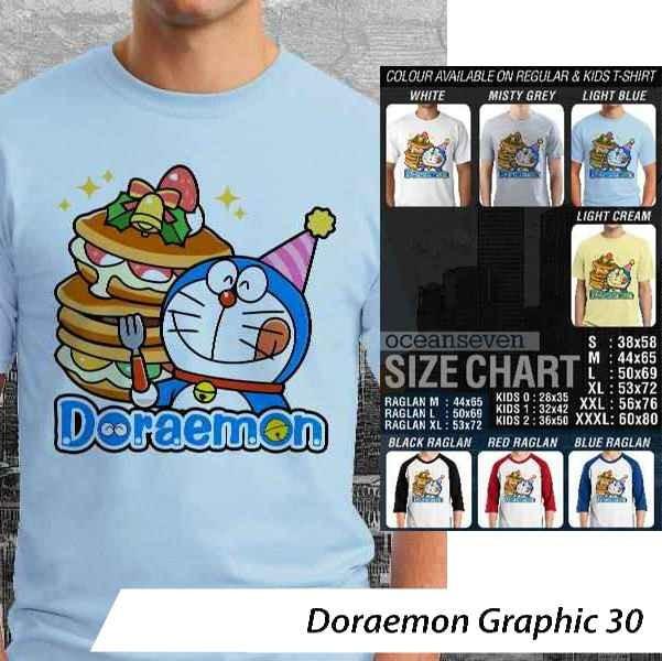 [DISKON] Kaos Doraemon Graphic 30 - Distro Ocean Seven