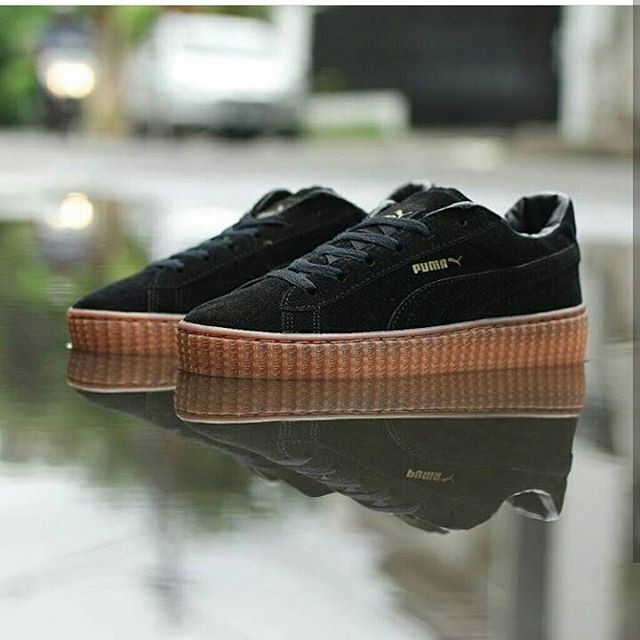 harga Puma rihanna / sepatu puma cewek / sepatu jalan jalan / sneakers Tokopedia.com
